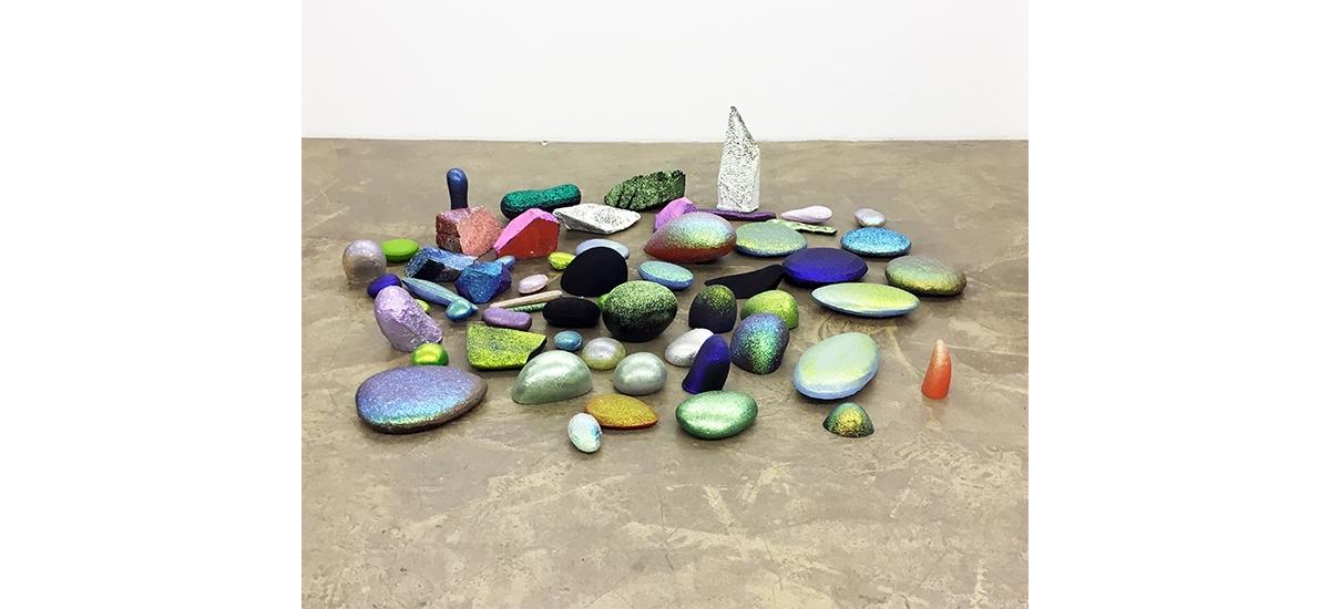 Martin Mc Nulty, La couleur tombée du ciel, Galerie Patricia Dorfmann Paris