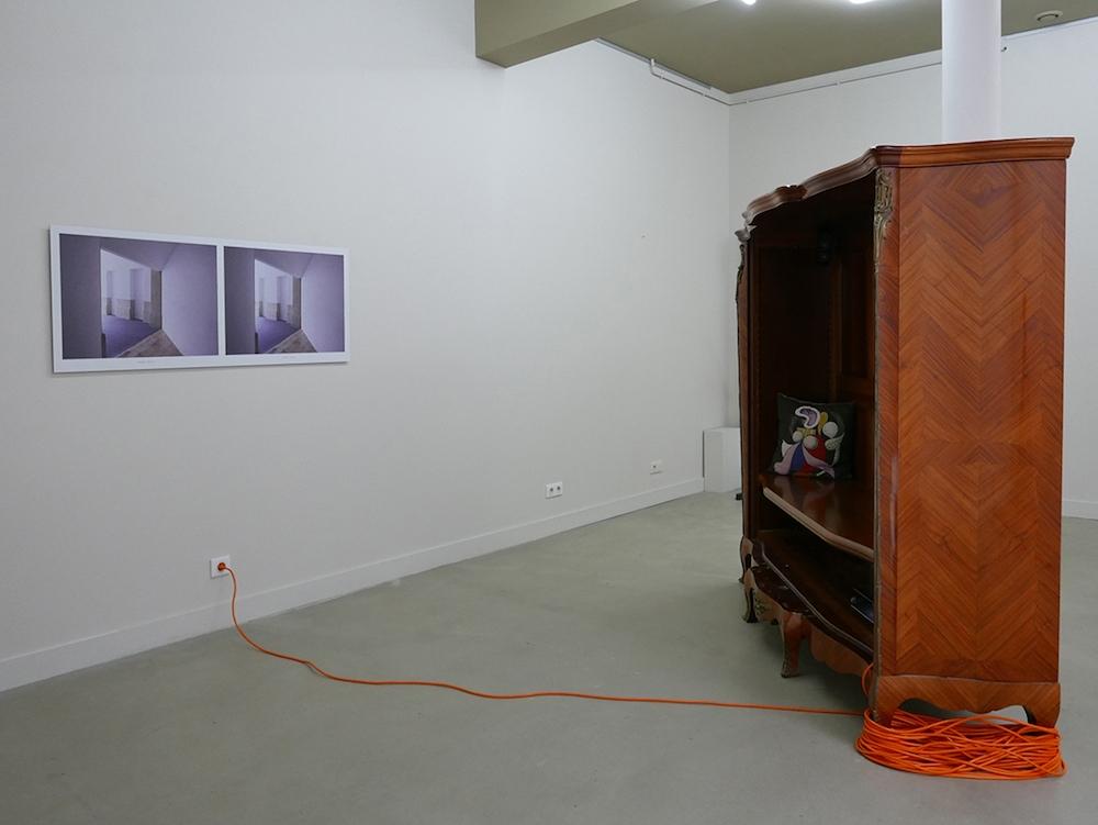 Mirsad Jazic, Sophie Mouron, vue de l'exposition Grand Salon, Rezdechaussee Bordeaux. Courtesy artistes