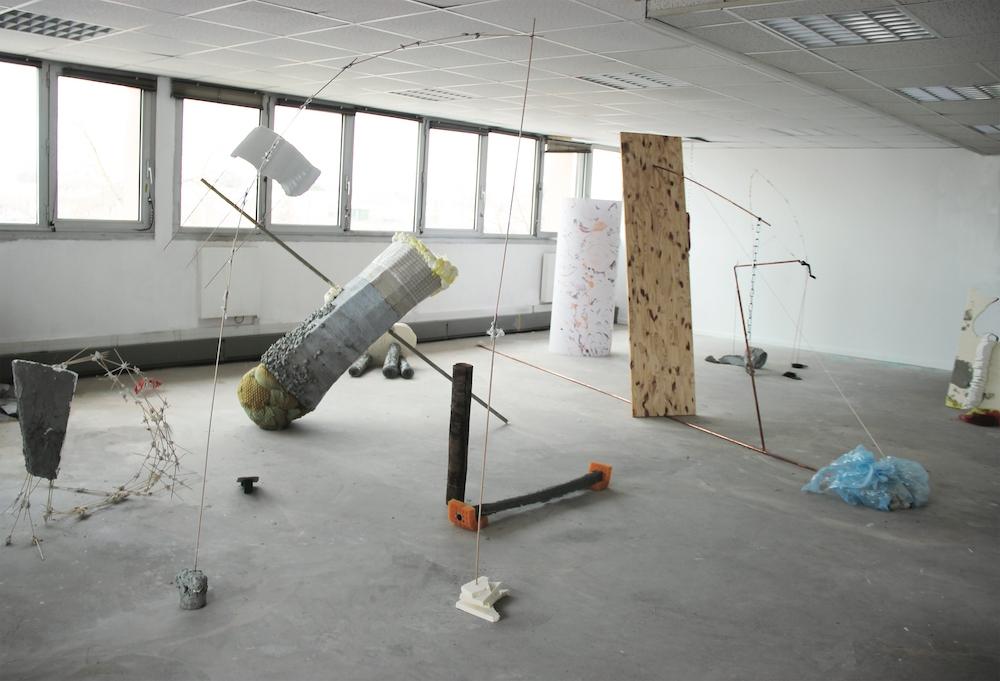 Naomi Maury, Cela me paraît bien mollasson, non ?, 2016-2017. Matériaux mixtes. Courtesy artiste