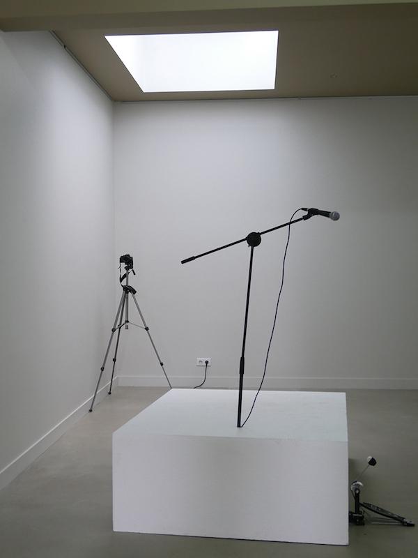 Pierre Andrieux, Sophie Mouron, vue de l'exposition Grand Salon, Rezdechaussee Bordeaux. Courtesy artistes