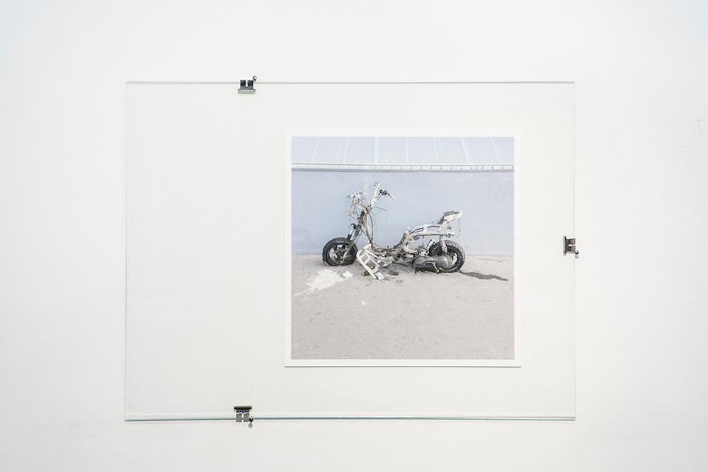 Pierre Gaignard, Gallieni incendiaire, 2018, tirage numérique.