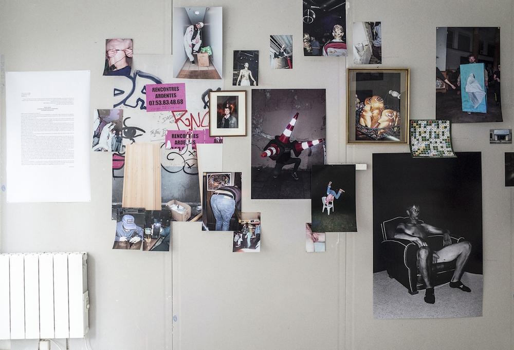 Robin Lopvet, vue d'exposition La ballade des dépendances inhabituelles, Capsule Galerie Rennes