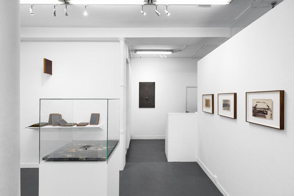 Vue de l'exposition Gabriel Leger, Vertigo, Galerie Sator Paris. Photo Grégory Copitet