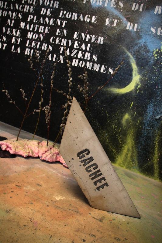 Wolf Cuyvers, Un Sultan insultant, Mutatio, Artist-run space, Nantes. Photo : Jean-Baptiste Janisset