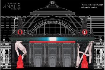 PROJECTIONS NUMERIQUES, Façade Grand Palais, Art Paris Art Fair 2018