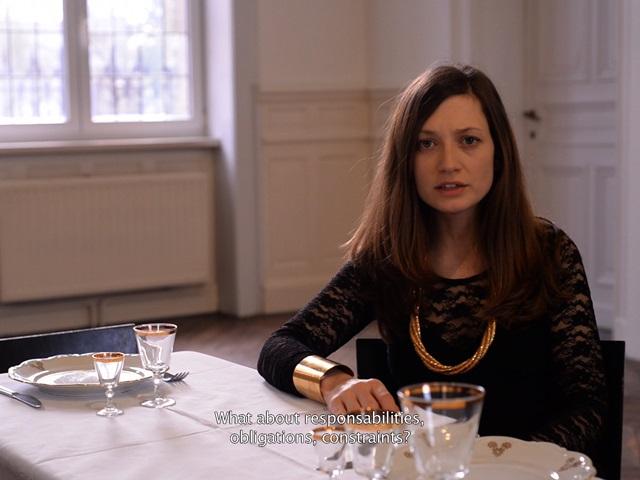 Ariane Loze, Le Banquet, 2016. Vidéo HD sonore, 17 min 45 sec