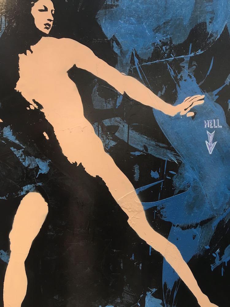Blek Le Rat - Galerie Ange Basso Paris