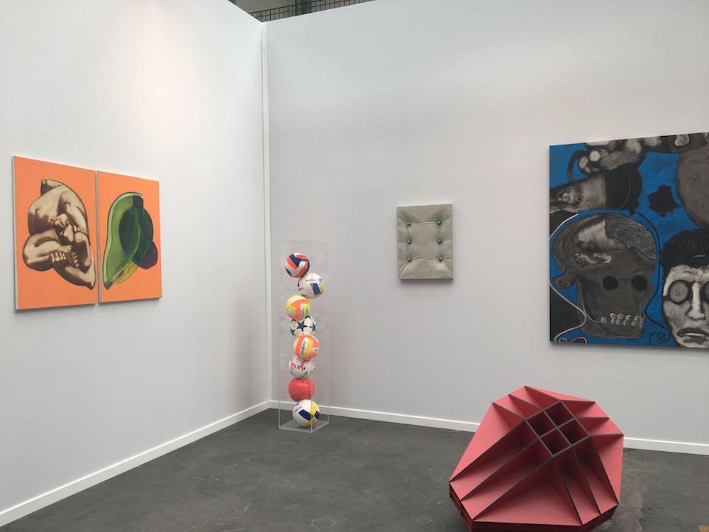Vincent Corpet- Gérard Deschamps - Vincent Mauger - Benjamin Sabatier - Galerie Bertrand Grimont Paris
