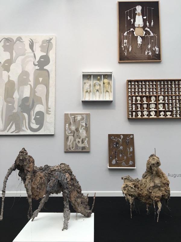 Lionel Sabatté - Augustin Rebetez - Galerie C Neuchâtel (Suisse)