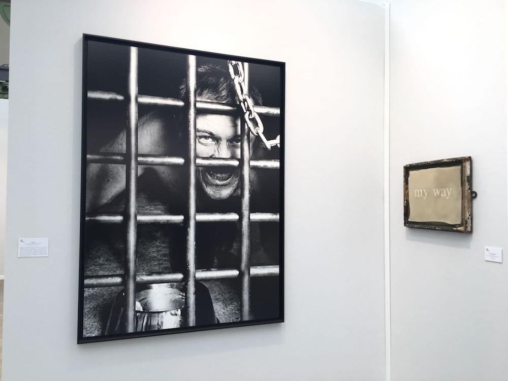 Oleg Kulik - Florence Cantier-Kramer - Galerie Rabouan Moussion Paris