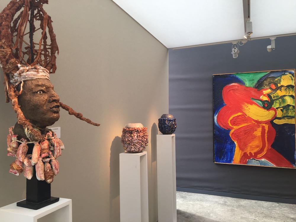 King Houndekpinkou - Bengt Lindström - Galerie Vallois Paris