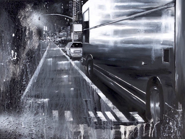 Daze, Rainy night. Courtesy artiste et Speerstra Gallery Paris.