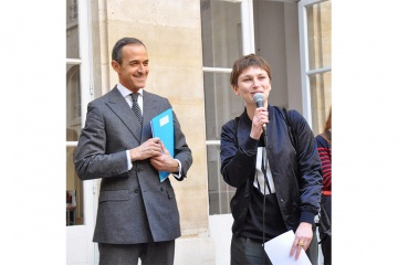 Eve Chabanon, Lauréate du Prix Sciences Po pour l'art contemporain