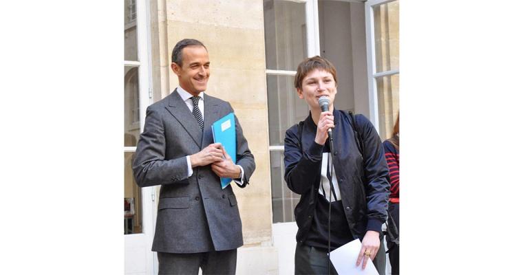 Eve Chabanon, Lauréate du Prix Sciences Po pour l'art contemporain