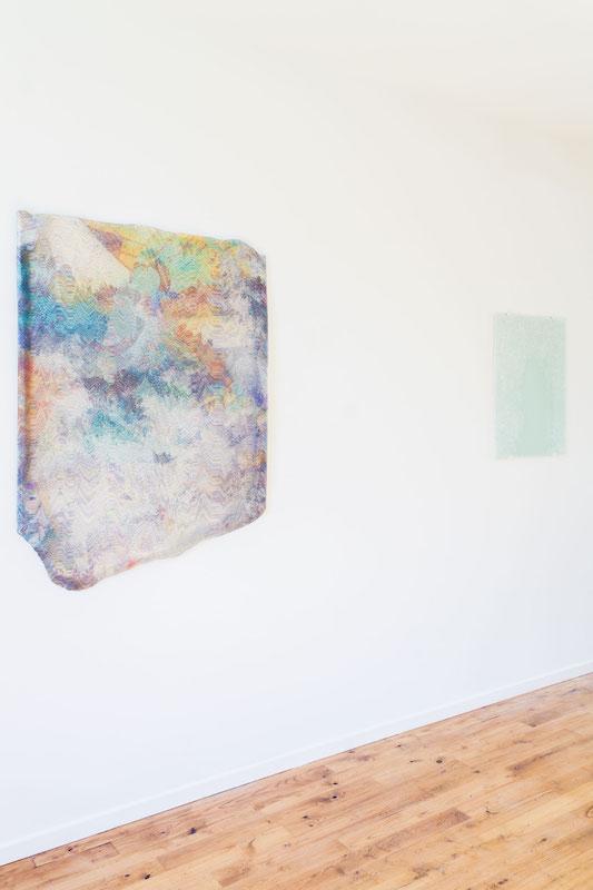 vue de l'exposition personnelle deMathieu Merlet Briand, M@terial, Galerie Alexandra de Viveiros
