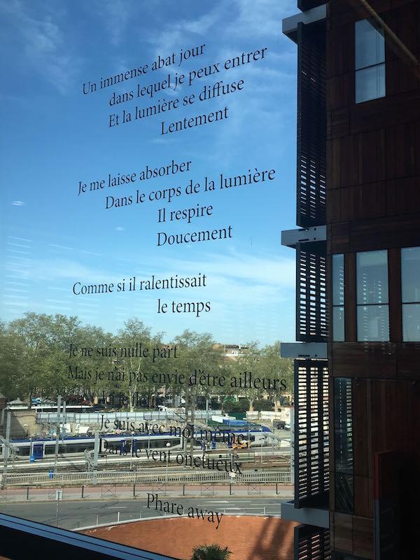 Maeghan Leith Mourier, Éphémère. Vue de l'exposition Pièce montée des étudiants de l'isdaT beaux-arts, Toulouse. Médiathèque José Cabanis.