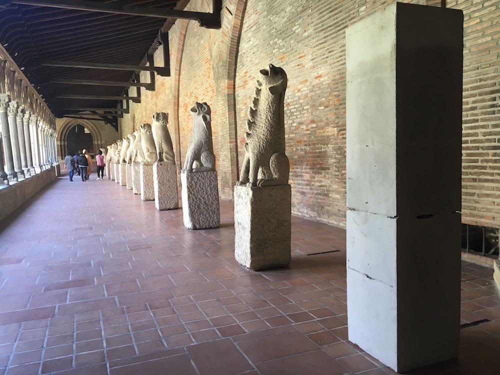 Benjamin Coudol, La Gargouille et moi. Vue de l'exposition Pièce montée des étudiants de l'isdaT beaux-arts, Toulouse. Musée des Augsutins