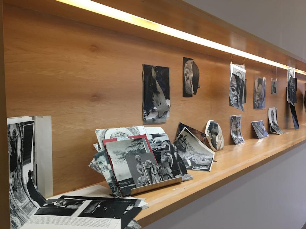 Julia Solans, Sans titre. Vue de l'exposition Pièce montée des étudiants de l'isdaT beaux-arts, Toulouse. Médiathèque José Cabanis.