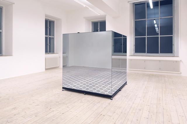Roland Burkart, Your Infinity, 2017 LED, miroir, aluminium, plexiglas 195 x 185 x 180 cm