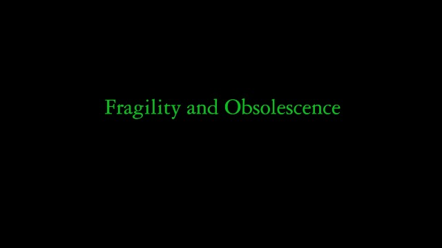 Samuel Lecoq, Fragility and Obsolescence, 2017 Vidéo, 1080-1920 10 min