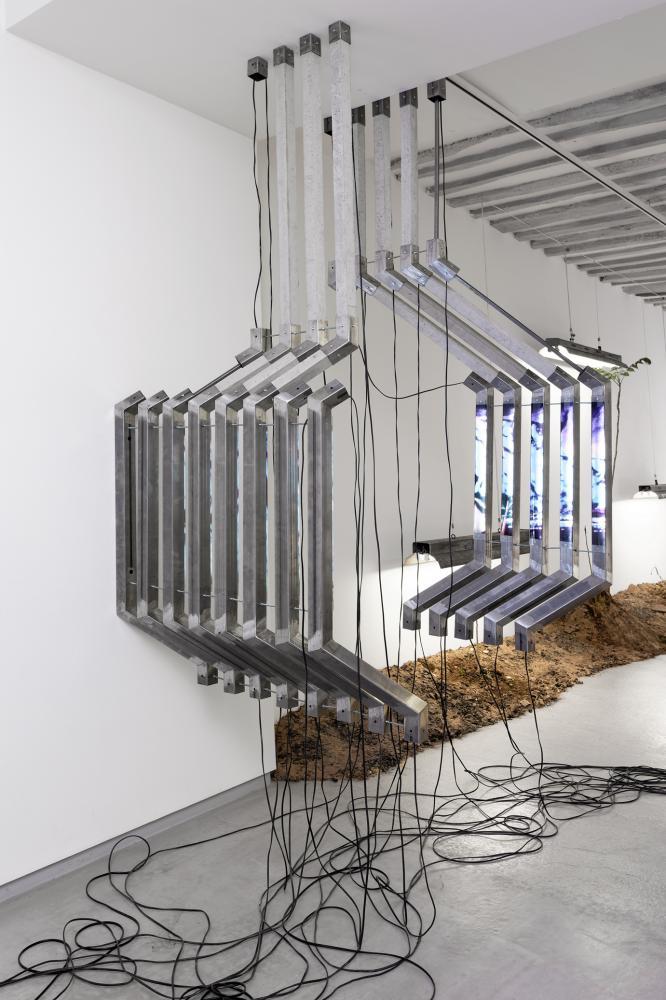 Anne-Charlotte Yver - Vue d'exposition BL OB! Galerie Bertrand Grimont Paris.