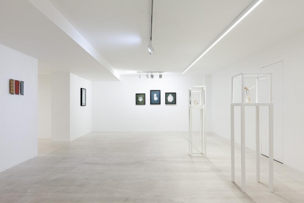 Vue de l'exposition Collettiva 5 + 5, galerie Italienne, Paris. PhotoPaul Nicoué
