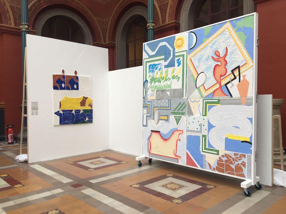 Maximilien Pellet, vue exposition 68e édition Jeune Création - Beaux-arts de Paris 2018