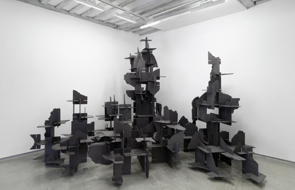 Vincent Mauger - Vue d'exposition BL OB! Galerie Bertrand Grimont Paris.
