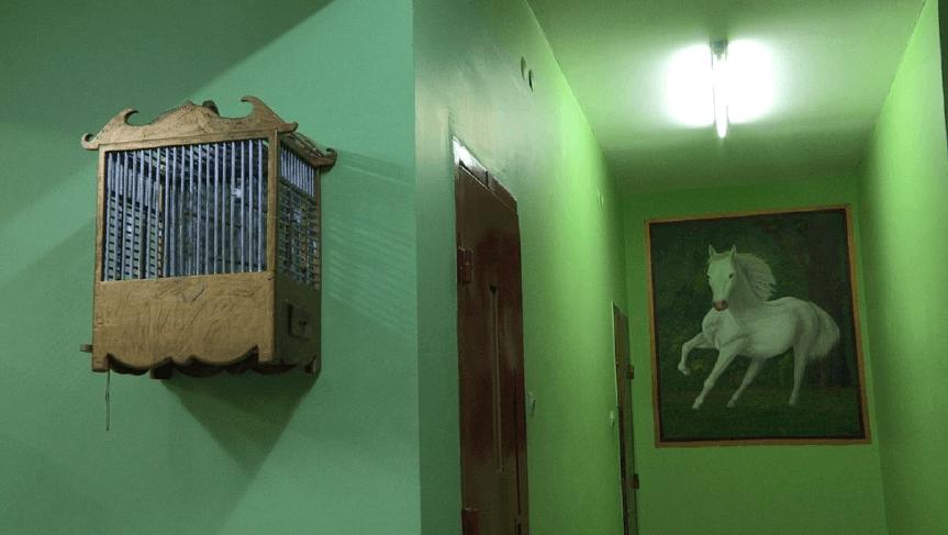 Ali Kazma, Prison, 2013. Série Résistance, still vidéo HD, 4'52'' Courtesy CNAP.