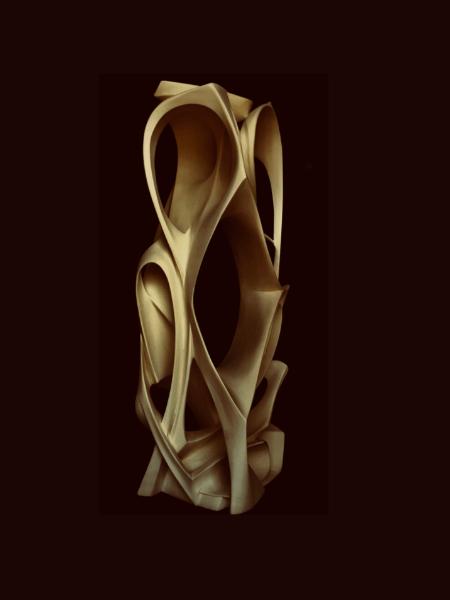 Chedli MAHDAOUI  Inside out  1 m x 40 cm x 30 cm  Courtesy de l'artiste