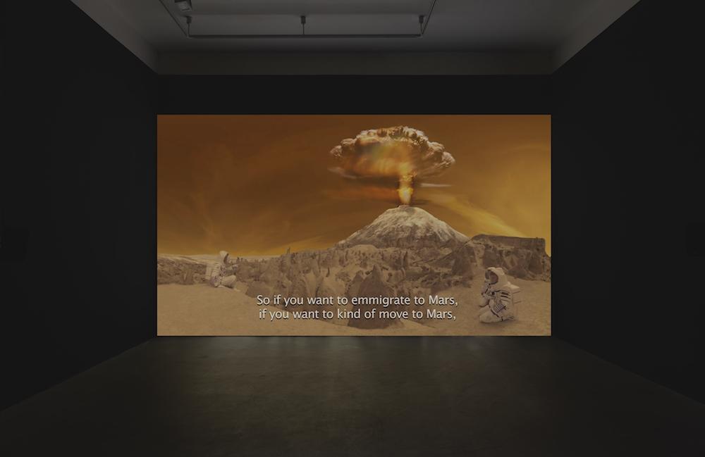 Halil Altindere, Space Refugee, 2016, film video HD, durée 21' © Courtesy de l'artiste et de la PILOT Gallery, Istanbul