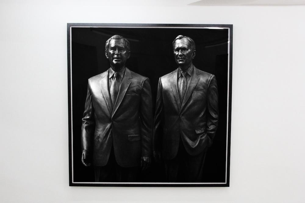 vue de l'exposition personnelle deKepa Garraza, POWER à Sobering Galerie Paris