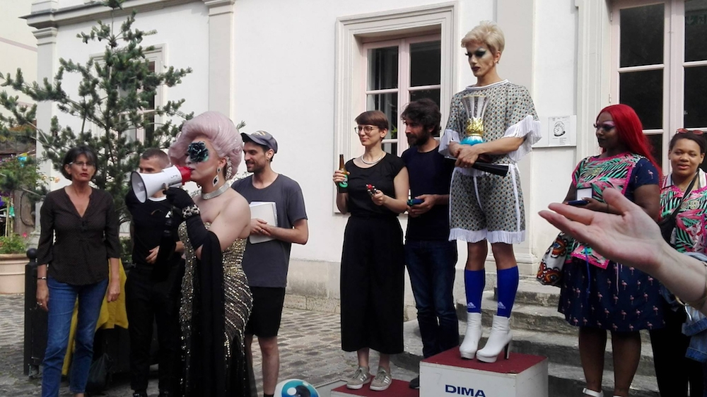 Mehryl Levisse créé le premier tournoi de Travball