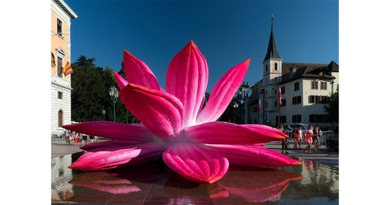 Annecy Paysages, une ballade d'art en ville