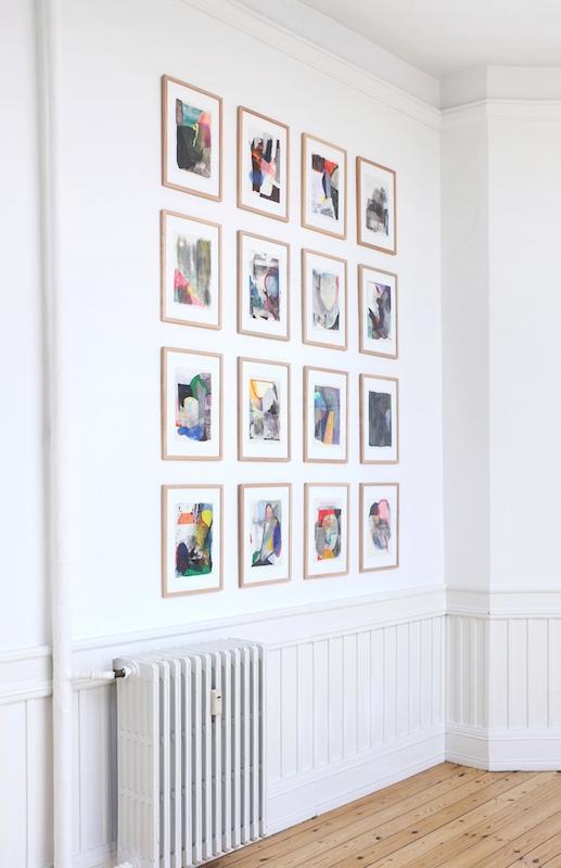 Côme Clérino, UNTITLED, 2018. Vue exposition Voir au verso Techniques mixtes sur papier, 20 x 30 cm, 2017
