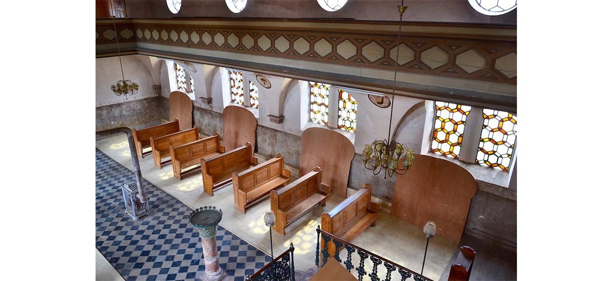 Les Résidus du vide par Ben Jack Nash - Synagogue de Reichshoffen