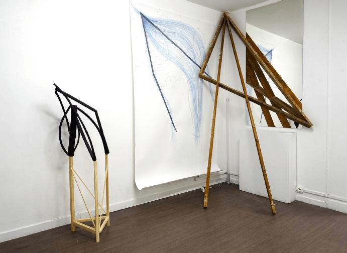 Alice Raymond, vue d'exposition Metavilla 2018