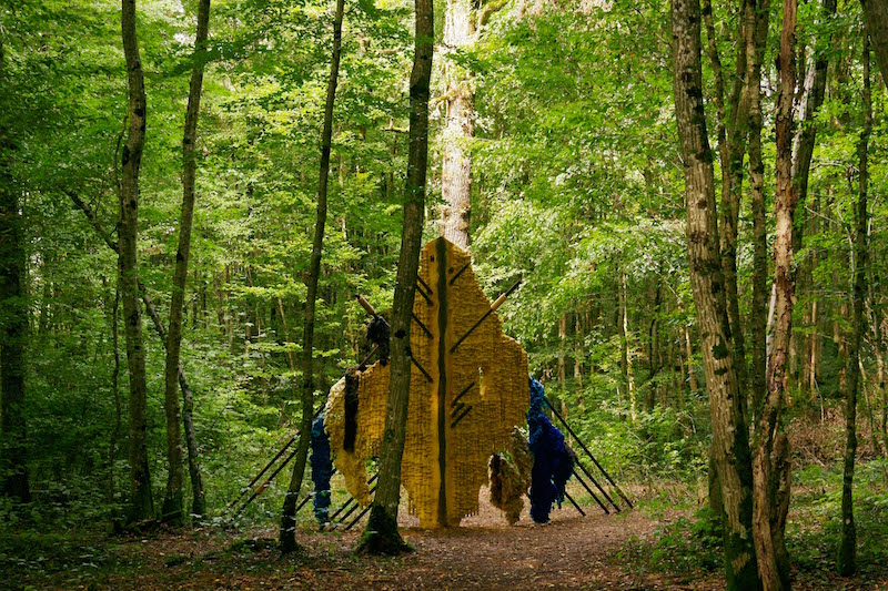 Amandine Arcelli, Rubato, Résidence Vent des Forêts. Photo Elisa Bertin