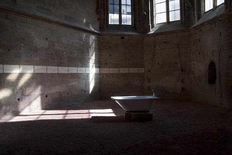 Bastien Faudon, Stéphanie Brossard, vue d'exposition Derapage-Eglise des Celestins Avignon