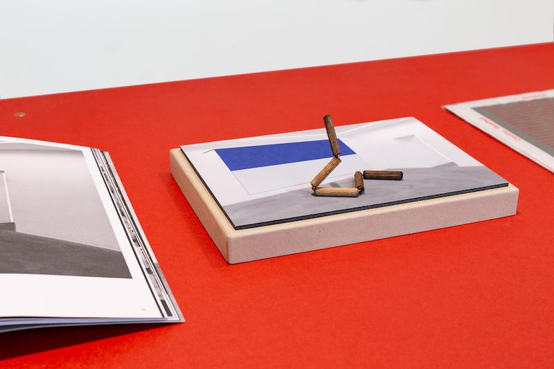 Vue d'exposition / Publication Copies, Théophile's Paper, Galerie Eric Mouchet Paris Photo © Margot Montigy
