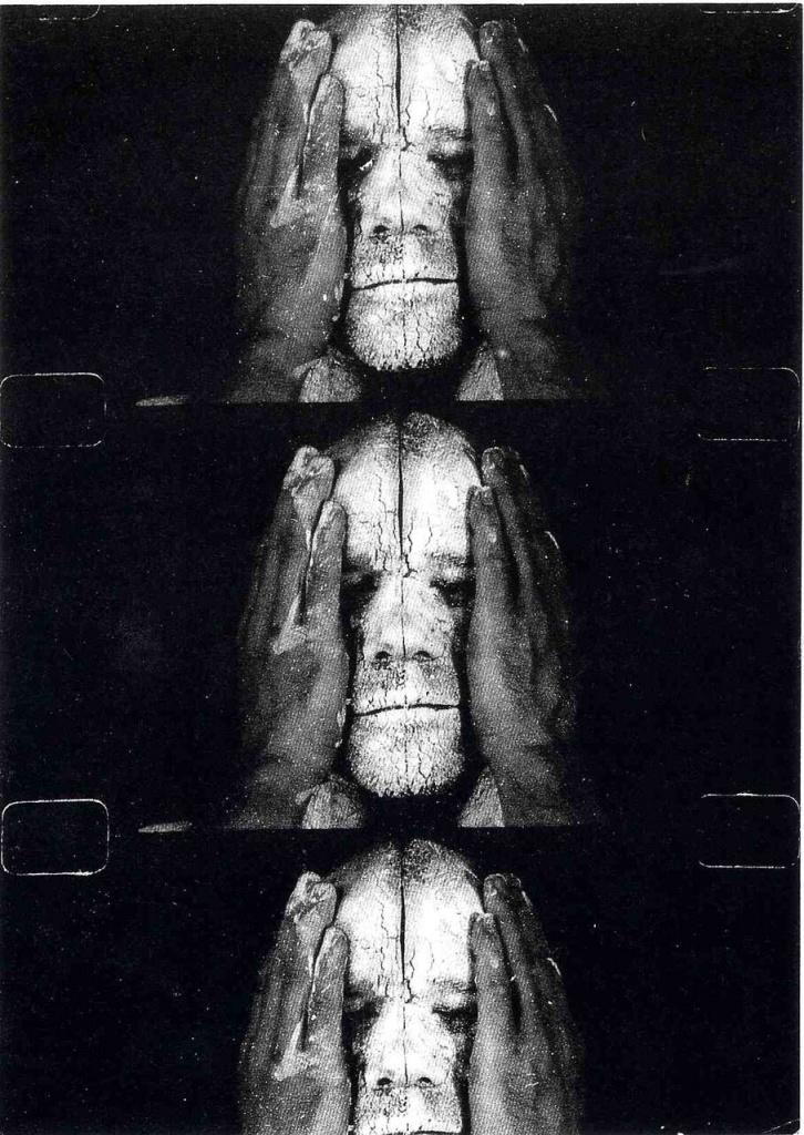Dieter Appelt, Images de la vie et de la mort, 1991. Coll. Frac Normandie Rouen @Adagp, Paris