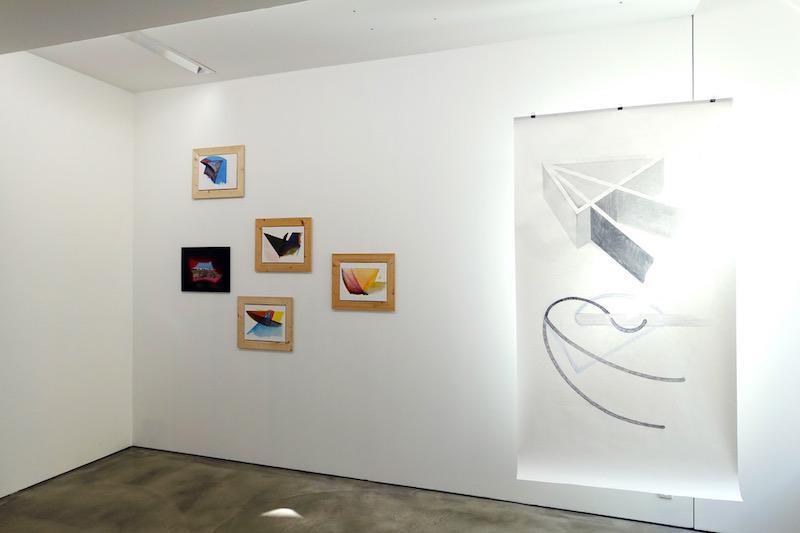 © Alice Raymond, 2018. Nervures [Se dit aussi des embranchements de chaînes de montagnes], Éponyme Galerie, septembre-novembre 2018, exposition personnelle d'Alice Raymond curatée par Élise Girardot.