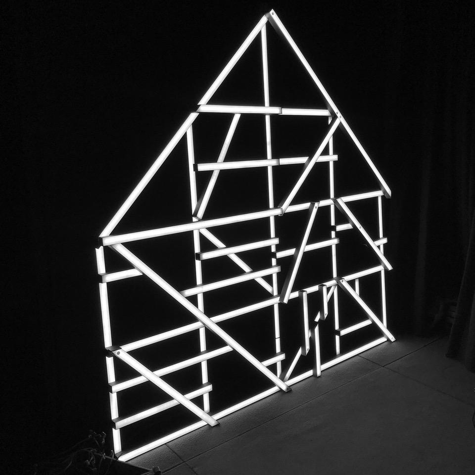François Mangeol, INFINITO, 2016/2018 - 200 x 200 cm - courtesy Domeau & Pérès Galerie et François Mangeol