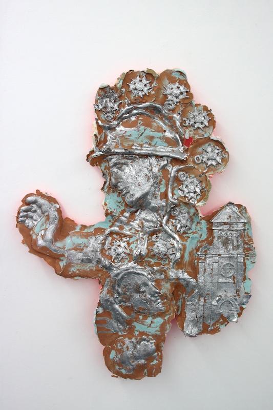 Jean-Baptiste Janisset, Aux Ancêtres, plomb, plâtre