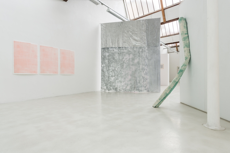 Guillaume Perez,Vue d'exposition Doppelgänger, URDLA, 2016. Photo Jules Roeser