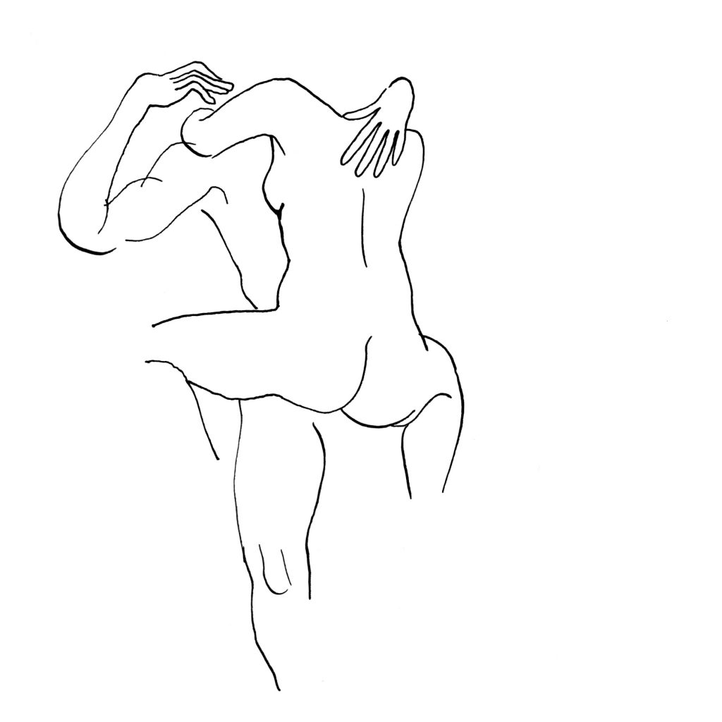 Charlotte Chauvin, Hot 5.Dessin sur papier. Courtesy artiste