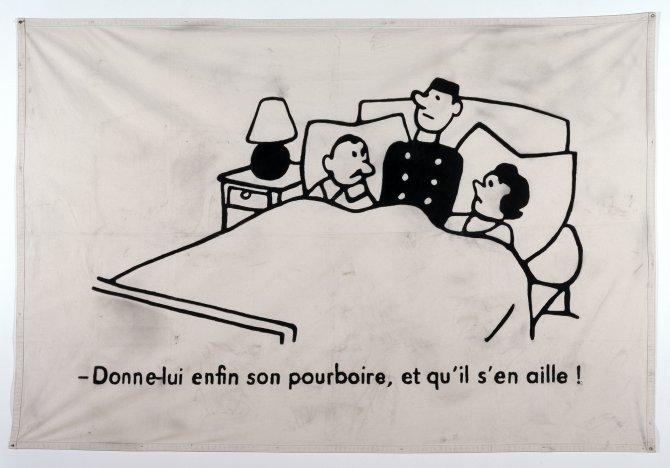 ERNEST T., Dessin français, 1964, 1998, Collection Frac Franche-Comté © Ernest T. Photo : DR
