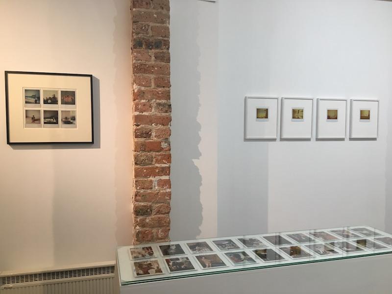 """vue d'exposition """"Instantanée"""" du 02 au 17 novembre 2018, Galerie de la Voûte Paris"""