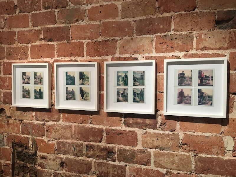 """Rémi Uchéda, Tenir en laisse, 2018. Vue d'exposition """"Instantanée"""" du 02 au 17 novembre 2018, Galerie de la Voûte Paris. Photo Point contemporain"""