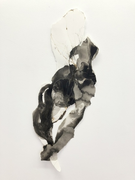 Vue de l'expositionGaëlle Chotard, La part de l'ombre, du 13 octobre au 1er décembre galerie Papillon, Paris